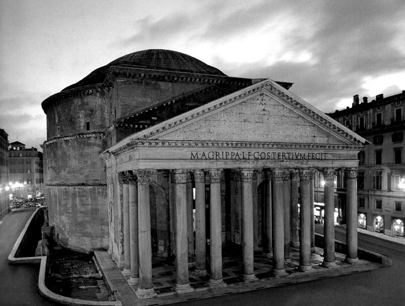 A római Pantheon még ma is áll!