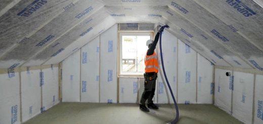 Üveggyapot szigetelés. Kép: www.fujhatoszigeteles.hu